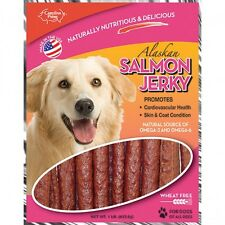 Carolina Prime Oven Baked Salmon Jerky Two Pounds of Delicious Dog Treats