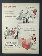 1956 Vintage Ad for Kleenex Tissues with Little Lu Lu