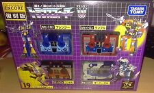 TRANSFORMERS CASSETTES G1 TAKARA ENCORE 19 EDITION SEALED