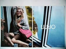 PUBLICITE-ADVERTISING :  LIU JO [2pages] 2015 Dree Hemingway,Mode