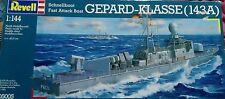 Revell 1/144 CLASE GEPARD Schnellboot