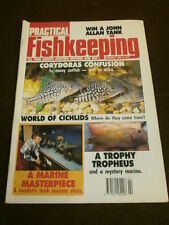 PRACTICAL FISHKEEPING - TROPHY TROPHEUS - FEB 1990