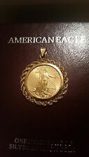2016 1/4 Ounce Liberty Eagle Gold Coin in 14k Gold Bezel