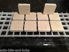 10x Large Coral Frag Tiles 100% Cured Caribsea Reef Sand Best Quality SPS LPS
