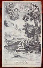 BIBLE Jacobs Ladder & Rachell and Leah L'échelle de Jacob  1690 Freman