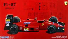 Fujimi GP-27 1/20 Scale Model Kit Ferrari F1-87 Formula One M.Alboreto/G.Berger