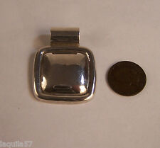 Vintage Signed AYI  MEXICO STERLING SILVER  925 Slider Pendant 18.3 grams