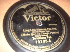 78RPM Victor 19105 Tennessee Ten, Long Lost Mamma/Collegians, Papa Better Wa V-
