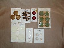 Vintage Lot of Fashion Buttons on Cards - Schwanda, LeChic, BGE