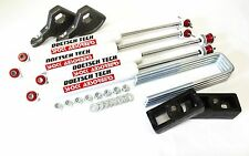 "DAKOTA 04 LIFT KIT 1-3"" TORSION KEYS 2"" BLOCKS DOETSCH TECH NITRO SHOCKS 4WD 4X4"