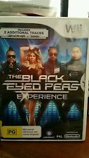 The Black Eyed Peas Experience NINTENDO WII - FREE POST