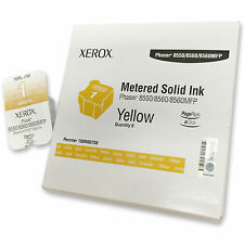 XEROX COLORQUBE 108r00708 YELLOW GIALLO PHASER 8550 8560 8560 MPF Metered Solid Ink