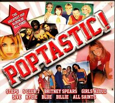 POPTASTIC- The Best of Classic Pop 3-CD (Kylie/Girls Aloud/Britney Spears/Aqua)