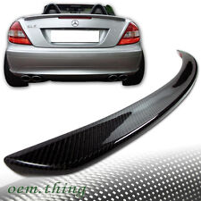 """SHIP OUT TODAY"" Carbon MERCEDES Benz R171 Convertible A Trunk Spoiler SLK300"