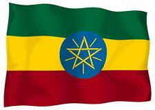 Adesivo Auto Sticker Tuning Moto Auto Stickers bandiera bandiera Etiopia