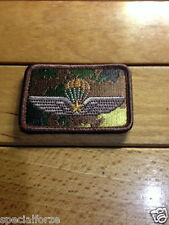 PATCH BREVETTO PARA'  MILITARE VEGETATO SU TESSUTO FS/FOS -