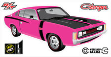 New! Collectable Chrysler VH Valiant Charger R/T - Magenta