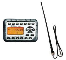 Jensen UTV Water Proof Stereo Radio and Antenna