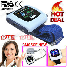 CMS50F Wrist Pulse Oximeter,Watch Spo2 Pulse Rate,Software,24Hours Analysis,USB