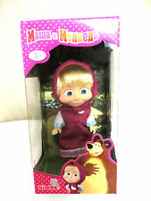 "TOY DOLL MASHA 12 CM/4,7"" MASHA & AND THE BEAR  GIRLS 3+ МАША И МЕДВЕДЬ"