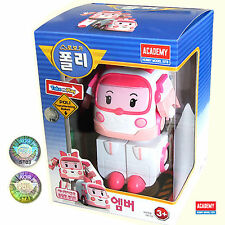 ROBOCAR POLI : AMBER Transforming Toy Robot Series ACADEMY / Korean Animation