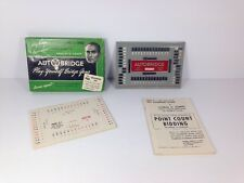 Vintage Learn How to Play Bridge with the Auto Bridge Game