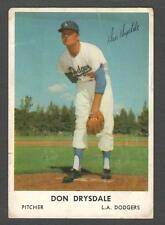 1962 Bell Brand Dodgers #53 Don Drysdale