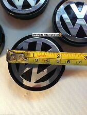 VW Golf MK2 MK3 MK4 VR6 R32 1x Wheel Centre Center Cap 55MM Genuine New OEM VW