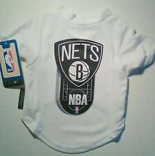 Brooklyn NETS Jersey DOG Pet T Shirt S or M Hunter NBA STORE Tag Small or Medium