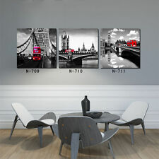 HD Canvas Print Home Decor Wall Art Painting Picture-City 3PC Unframed