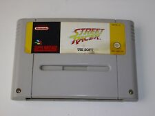 "(1)  JEU SNES "" STREET RACER "" VERSION PAL EUR !"