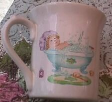 TWO Vintage CABBAGE PATCH KIDS Items: 1984 MUG / CUP & MIB Christmas ORNAMENT