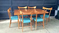 Paul McCobb Bow Tie Chairs And Dining Table Mid Century