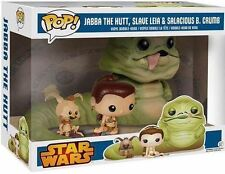 JABBA THE HUT SLAVE LEIA SALACIOUS CRUMB 3 pack Funko Pop! wal-mart exclusive