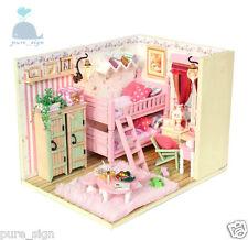 BRICOLAJE Artesanía Miniatura Proyectos Kit My Little Dormitorio De Niñas