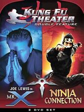 Kung Fu Theater Double Feature - Mr. X/Ninja Connection (DVD, 2005, 2-Disc Set)
