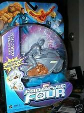 SILVER SURFER FANTASTIC FOUR COSMIC BUMP N GO CYCLE MOC