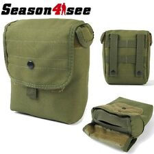 New Airsoft Molle Utility Magazine Dump Tool Drop Pouch Bag Outdoor Oliver Drab