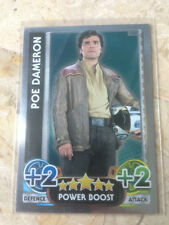 STAR WARS Force Awakens - Force Attax Trading Card #185 Poe Dameron