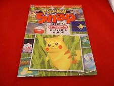 OFFICIAL Nintendo Power Pokemon Snap Strategy Players Guide Book Nintendo 64 N64