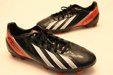 Men's Adidas F50 F10 Soccer Cleats in US Size 8.5 Black / Orange Free Shipping!