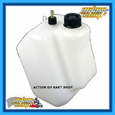 "GO KART "" 3 LITRE FUEL TANK "" BLACK CAP BETWEEN STEERING UPRIGHTS FREE DELIVERY"