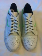 Mens Les Hommes Aw10 Brogue Sneaker White LEATHER Trainers- UK Size 8. RRP-£285