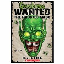 Goosebumps Wanted: the Haunted Mask-ExLibrary