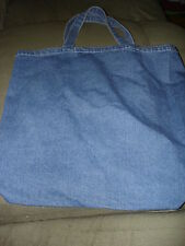 PORT AND COMPANY DENIM TOTE BAG 14 INCH BY 16WINCH