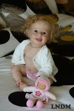 "Reborn 10 Month ~ Baby Amelia ~ 25"" Vinyl Doll Parts Kit by Donna RuBert 4251"