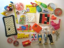 VINTAGE Junk Drawer Mixed Lot SMALL TOYS From The 1950's-1970's Puzzles Games