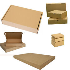 75x Large Letter Boxes 350 x 250 x 50 mm Cardboard Box Pack Folding carton brown