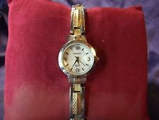 Woman's Embassy Watch with Two Tone Band **Nice** B29-626