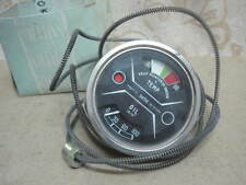 NOS SMITHS 80mm DUAL OIL Pressure & Temperature Gauge NORTON Commando 850